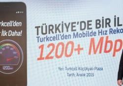 Turkcell 4.5G Testlerinde 1.2 Gbps Hıza Ulaştı!
