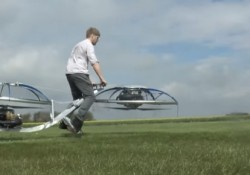 Ünlü Youtuber Colin Furze, Ev Yapımı Uçan Bisiklet Üretti!