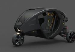 Geleceğin Tek Kişilik Araç Tasarımı: Vector